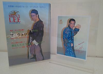 Special Limited Edition Bruce Lee Forever Japanese Warrior Issue With Special Bo