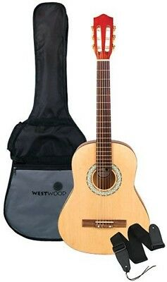 Westwood WWCG36 3/4-size Classical Guitar with Bag and Strap. Huge Saving