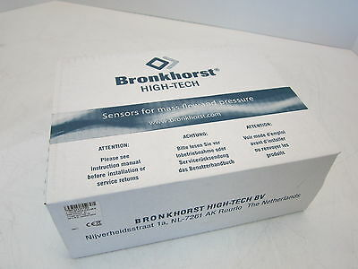 NEW - Bronkhorst High-Tech Mass Flow Controller P-702CM-6K0A-EAD-88-L 2000 Ar