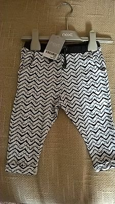 Next Baby Girls Trousers size 3 to 6 months BNWT