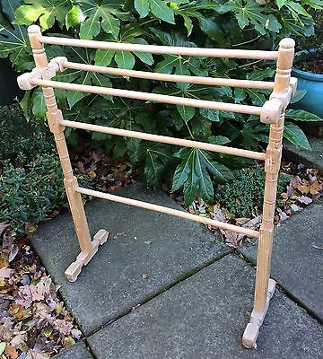Antique Victorian Towel Rail Stand