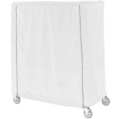 Metro 21X60X62VUC Cover, Cart Un-Coated Cover, Velcro WHITE