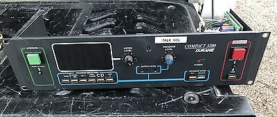 DuKane Compact 3200 Series Intercom Master Control Panel