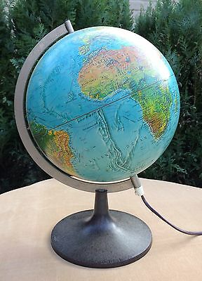 Vintage Globe Large Scan - Globe A/S Scan Illuminated Denmark