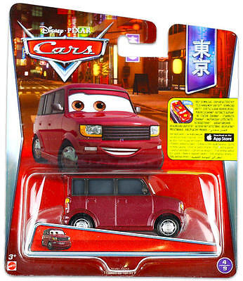 CARS Personaggio VIC VANLEY in Metallo scala 1:55 by Mattel Disney Pixar