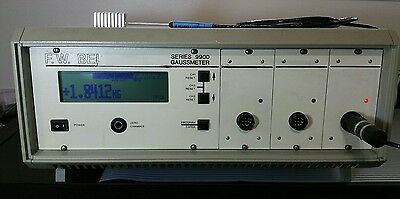 F.W. BELL 9900 Gaussmeter Tesla Meter Magnetometer with PROBE.