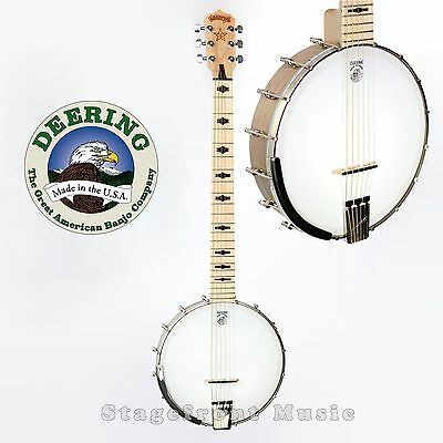 Deering Usa G6S Goodtime 6 String Banjo Tunes Like A Guitar Sounds Like A Banjo