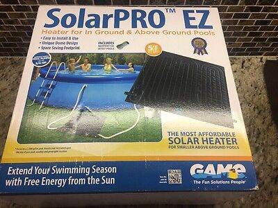 Solar Heater for Above-Ground Pools | Solarpro EZ Mat 10 sq ft Folds for Storage