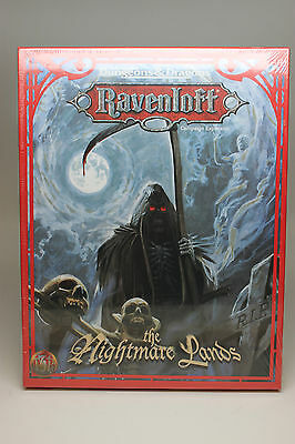 Ravenloft: The Nightmare Lands Campaign Expansion Boxed Set (1124) New in Shrink