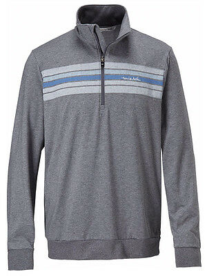 Travis Mathew Fosdale 1/4 Zip Pullover - Dark Grey