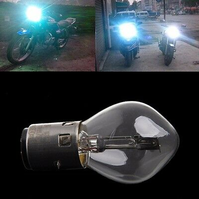 12V 35W 10A B35 BA20D vetro ATV ciclomotore scooter Head Light Bulb Moto