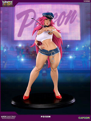 Street Fighter Poison 1/4 Ultra Statue Pop Figura Figure New Capcom Pre-Order