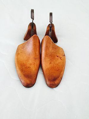 vintage wooden shoe trees/stretchers