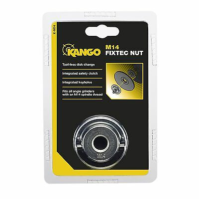 Kango M14 Fixtec Nut -Quick Change For Angle Grinder Discs - M14 - Safety Clutch