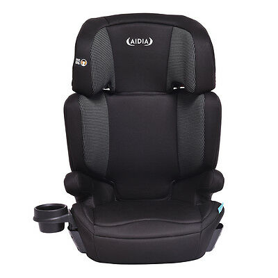 2 in 1 Baby Toddler Adjustable High Back Safety Booster Car Seat w/ Cup Holder