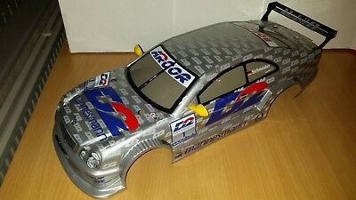 NEW! 1/10 scale Mercedes Benz CLK - DTM Finished Bodyshell with wing mirrors