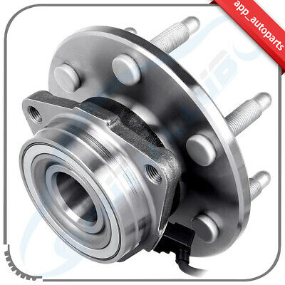 New Front Wheel Hub & Bearing w/ ABS for Chevy GMC Pickup Truck 4X4 4WD AWD-6lug
