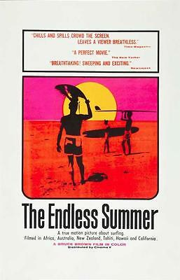 The Endless Summer Movie POSTER 27 x 40, Michael Hynson, A, USA, NEW
