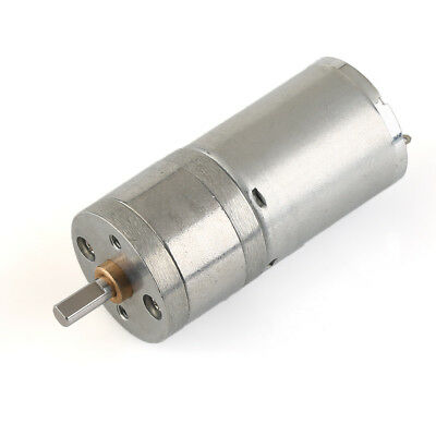 DC 12V 120RPM Micro Gear Box Motor Speed Reduction Centric Output Shaft