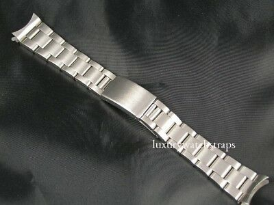 Superb Stainless Steel Oyster 20Mm Watch Strap For Rolex Datejust & Yacht Master