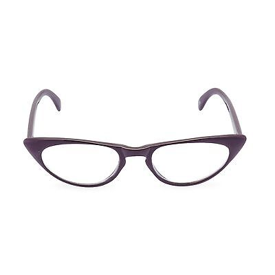 Luscious 50s vintage style CATEYE reading glasses 'Peggy' PURPLE+1.25+1.50 +2.00