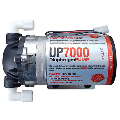 Umkehrosmoseanlagen Pumpe UP7000 High Flow Booster Pump 75GPD 24 Volt Osmose