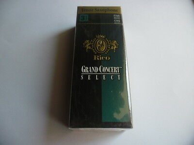RICO GRAND CONCERT RGC05TSX350- 5 Anches-reeds saxo tenor Force 3,5- NEW