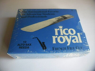 RICO ROYAL - 10 Anches-reeds saxophone alto Force 4- NEW