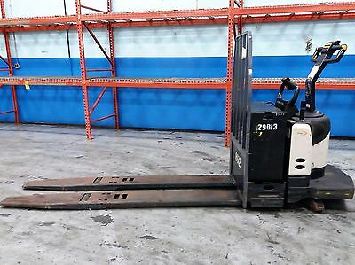 CROWN PE4500-80 24V 8000lb 4-Ton Electric Pallet Jack Lift Truck ONLY 2700hours