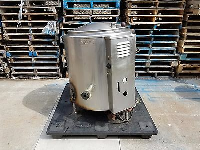 Groen Stainless Steel Jacketed Kettle 40 gallon Gas Model AH/-1-40