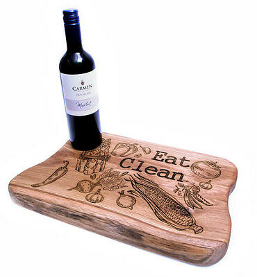Solid Oak Wooden Chopping Board Real Wood