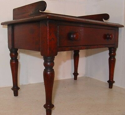 Reproduction apprentice piece antique Victorian writing table