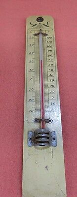● Vintage C F Advertising Thermometer.