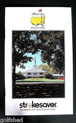 The Masters Golf 1991 Players Yardage Guide 50 Page Book Augusta Course Guide