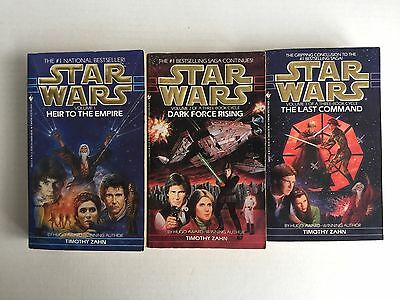 Star Wars : The Thrawn Trilogy 1st Edition paperback by Timothy Zahn