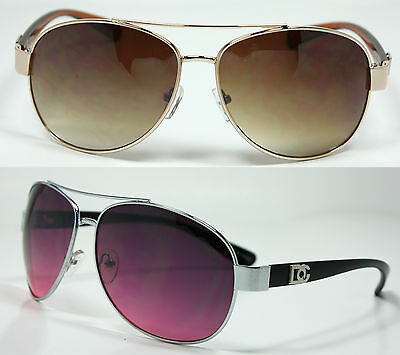 8f002426a931 DG Mens Womens Fashion Designer Sunglasses Shades Retro Pilot Wrap Eyewear