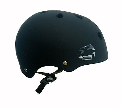 Capix Opener Helmet Snow, Skate, Wake, Bike Small/Medium Matte Black - NEW