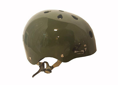 Capix Opener Helmet Snow, Skate, Wake, Bike Small/Medium Green/Camo - NEW