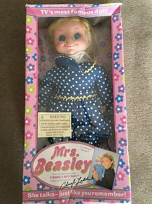 Mrs Beasley Collectible Doll From TV Family Affair In Box #76145