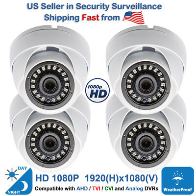 1080p Wide Angle 100 Degree CCTV Security Dome CameraOutdoor Indoor Night Vision