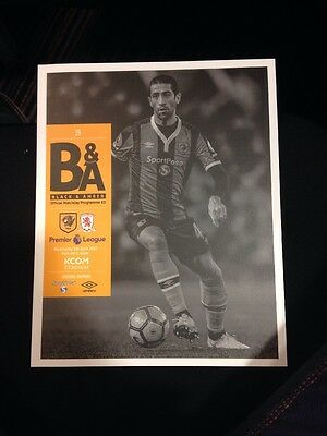 Hull City v Middlesborough 5th April 2016/17 Programme | LOWEST PRICE ON EBAY
