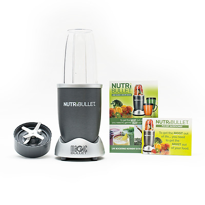 NutriBullet 600 W Grey 5 pc SET Nutrition Extractor Blender As seen on TV UK