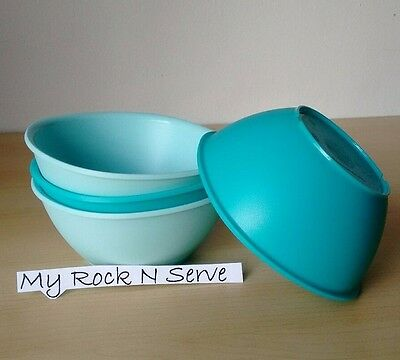 Tupperware Legacy Pinch Cereal Bowl Set 1 3/4 cup  New