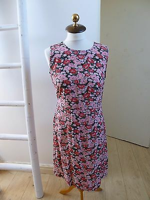 Unbranded true vintage floral tea/summer/festival/boho dress  size M/L