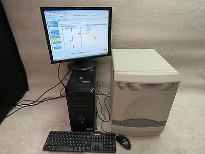 ABI Applied Biosystems 7500 Real-Time PCR System with control computer