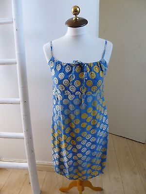 Unbranded true vintage abstract tea/summer/festival/boho dress  size XS/S