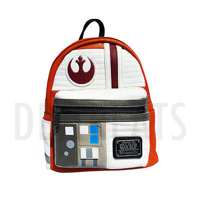 Disney Star Wars Rebel Cosplay Rogue One Mini Backpack by Loungefly NEW!