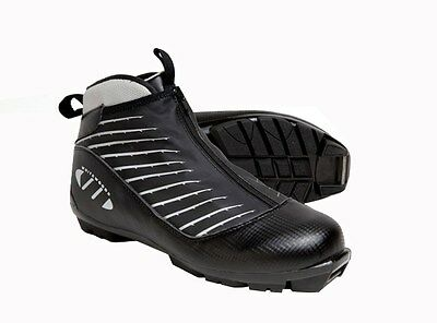 Whitewoods 424 NNN Cross Country Touring Ski Boots Euro 48 - Black - NEW