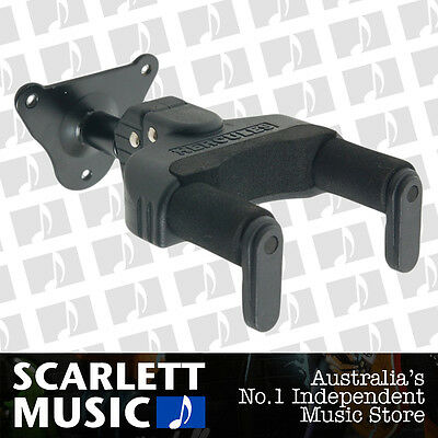 Hercules GSP39WB Guitar Wall Mount Hanger Stand Auto Grip GSP-39WB