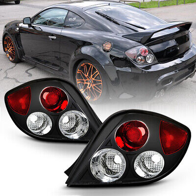 For 2003-2005 Tiburon GS/GT/SE Left+Right Black Altezza Tail Light